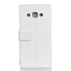 Samsung Galaxy J3 Pro White Wallet Case