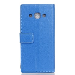 Samsung Galaxy J3 Pro Blue Wallet Case