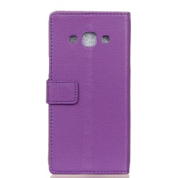 Samsung Galaxy J3 Pro Purple Wallet Case