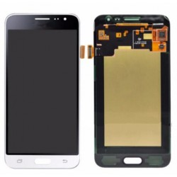 White Samsung Galaxy J3 2016 Complete Replacement Screen
