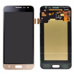 Samsung Galaxy J3 2016 Complete Replacement Screen Gold Color