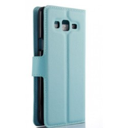 Samsung Galaxy On7 Pro Blue Wallet Case