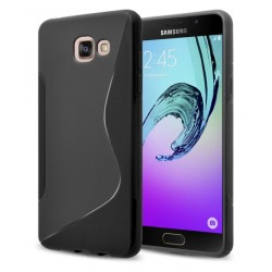 Black Silicone Protective Case Samsung Galaxy On7 (2016)