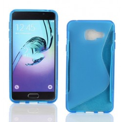 Blue Silicone Protective Case Samsung Galaxy On7 (2016)