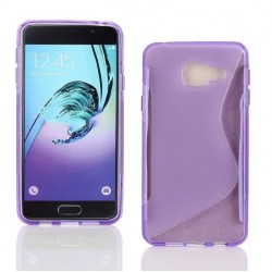 Purple Silicone Protective Case Samsung Galaxy On7 (2016)
