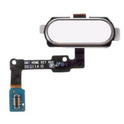 White Home Button Assembly Part For Samsung Galaxy On7