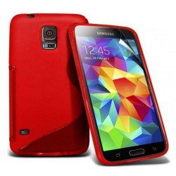 Red Silicone Protective Case Samsung Galaxy S5 Active