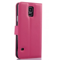 Samsung Galaxy S5 Active Pink Wallet Case