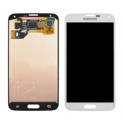 White Samsung Galaxy S5 New Complete Replacement Screen