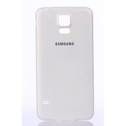 Cache Batterie Blanc Pour Samsung Galaxy S5 New