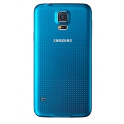 Samsung Galaxy S5 New Genuine Blue Battery Cover