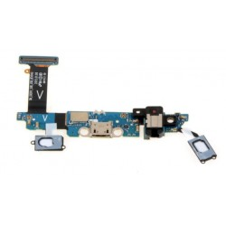 Dock Charging Audio Jack Connector And Microphone Flex Cable For Samsung Galaxy S6