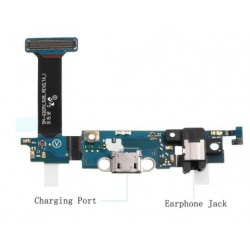Dock Charging Audio Jack Connector And Microphone Flex Cable For Samsung Galaxy S6 Edge