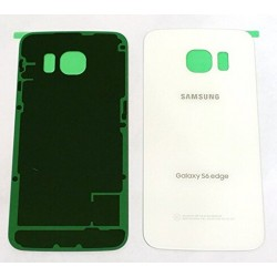 Samsung Galaxy S6 Edge Genuine White Battery Cover