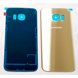 Samsung Galaxy S6 Edge Gold Color Battery Cover