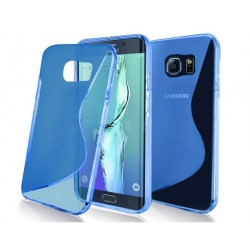 Blue Silicone Protective Case Samsung Galaxy S7
