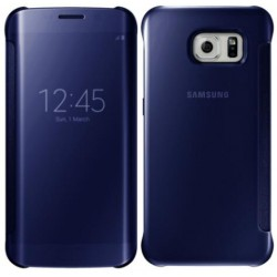 Blue LED View Cover For Samsung Galaxy S7