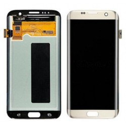 Samsung Galaxy S7 Edge Complete Replacement Screen Gold Color
