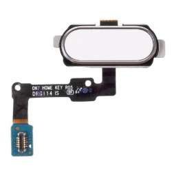 White Home Button Assembly Part For Samsung Galaxy On5