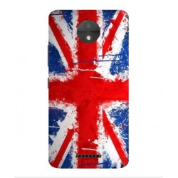 Coque UK Brush Pour Motorola Moto C