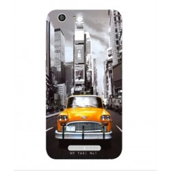 Coque New York Taxi Pour Cubot Dinosaur