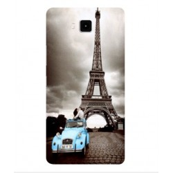 Cubot Echo Vintage Eiffel Tower Case