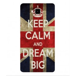 Carcasa Keep Calm And Dream Big Para Cubot Echo
