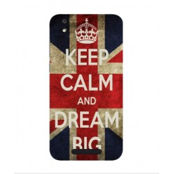 Carcasa Keep Calm And Dream Big Para Cubot Manito
