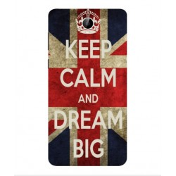 Coque Keep Calm And Dream Big Pour Cubot Max