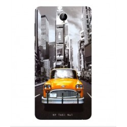 Coque New York Taxi Pour Cubot Max