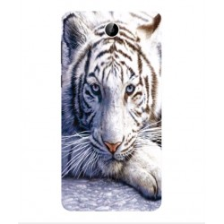 Coque Protection Tigre Blanc Pour Cubot Max