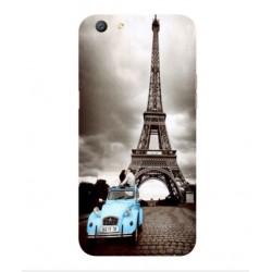 Oppo A77 Vintage Eiffel Tower Case