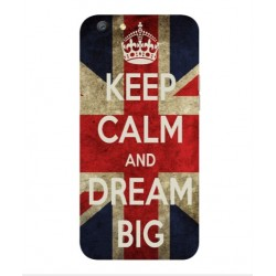 Oppo A77 Keep Calm And Dream Big Cover