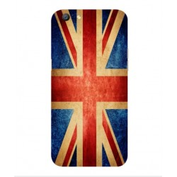 Coque Vintage UK Pour Oppo A77