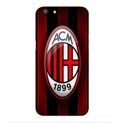 Oppo A77 AC Milan Cover