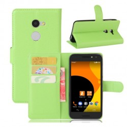 Orange Dive 72 Green Wallet Case