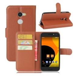 Orange Dive 72 Brown Wallet Case