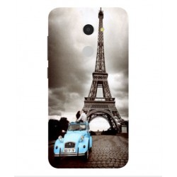 Orange Dive 72 Vintage Eiffel Tower Case