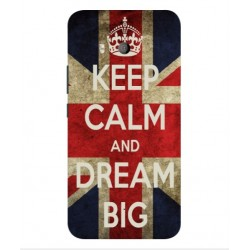 HTC U11 Keep Calm And Dream Big Cover