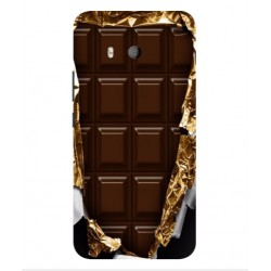 Coque I Love Chocolate Pour HTC U11