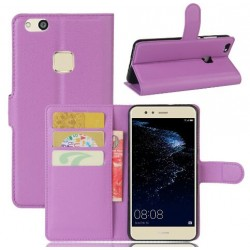 Huawei P10 Lite Purple Wallet Case