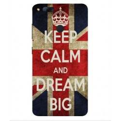 Custodia Keep Calm And Dream Big ZTE Nubia Z17 Mini