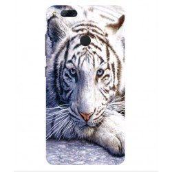 Cover 'I Love White Tiger' Per ZTE Nubia Z17 Mini