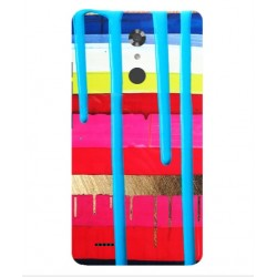 ZTE Max XL Brushstrokes Cover