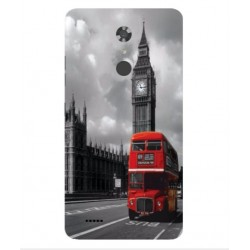 ZTE Max XL London Style Cover