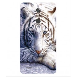 ZTE Max XL White Tiger Cover