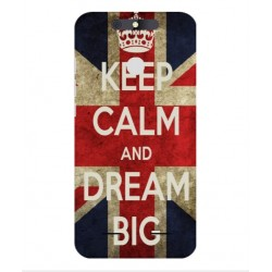 Coque Keep Calm And Dream Big Pour ZTE Blade V8 Lite