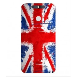 Coque UK Brush Pour ZTE Blade V8 Lite