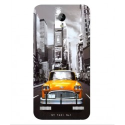 ZTE Blade A520 New York Taxi Cover