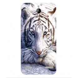 ZTE Blade A520 White Tiger Cover